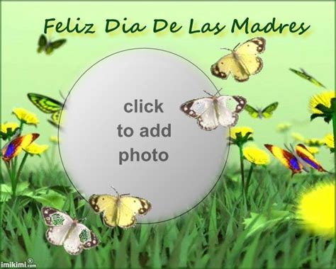 Feliz Dia De Las Madres Card Template by Feliz Dia De Las Madres Imikimi Frames Dia
