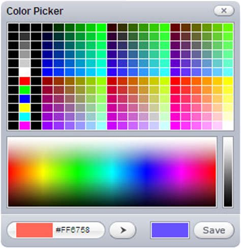 html color picker color picker 28 images obout free asp net color picker