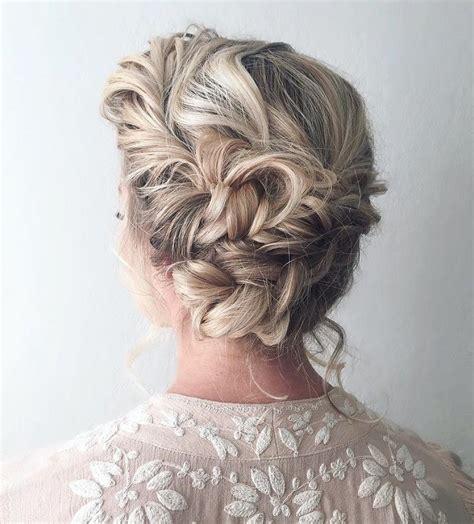 Wedding Boho Updo by Beautiful Boho Braid Updo Wedding Hairstyle For
