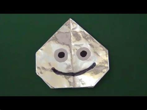 Origami Slime - quot metal slime quot origami超簡単 メタルスライム 折り紙