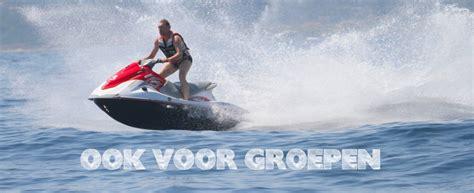 jetski verhuur nederland jetski varen julianadorp aan zee