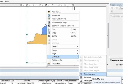 arcgis layout view zoom arcgis desktop how to make my map fit the whole screen