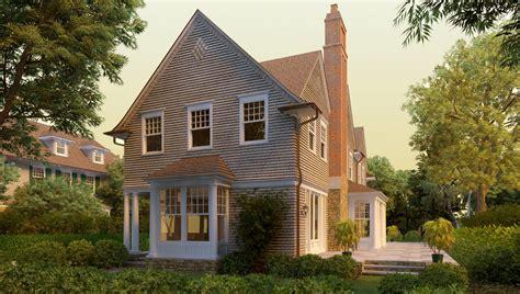 shingle house plans clam cove shingle style home plans by david neff architect