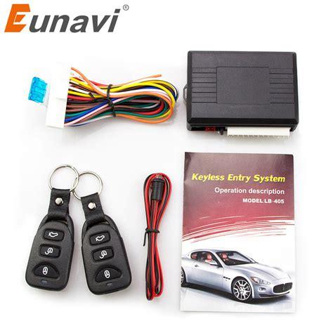 Alarm Motor Pakai Remote eunavi universal car alarm systems auto remote central kit