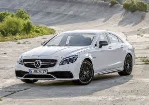 2015 mercedes cls63 amg s model front photo
