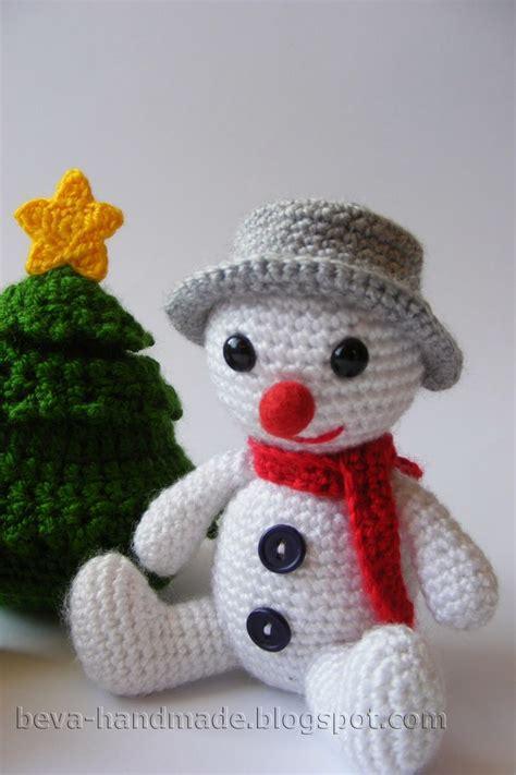 Amigurumi Snowman Pattern Free | snowman amigurumi pinterest