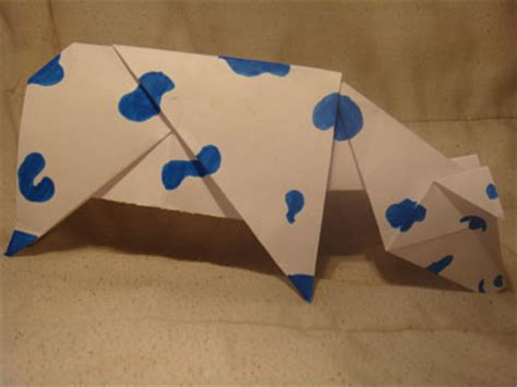How To Make An Origami Cow - how to make an origami cow 28 images the world s best