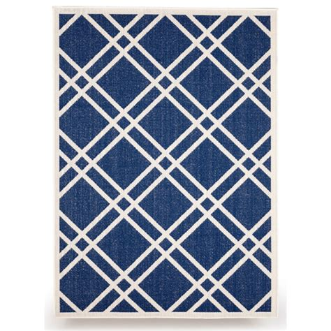 Royal Blue Outdoor Rug Budgeindustries Maverick Royal Blue Indoor Outdoor Area Rug Reviews Wayfair