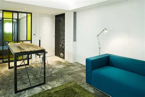 small studio apartment interior design  hong kong