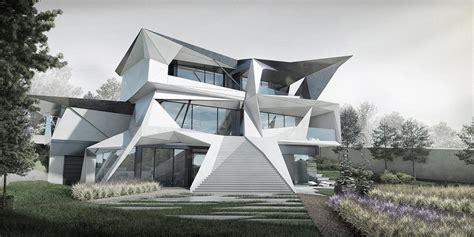 parametric residence  uspenskoe moscow  architect