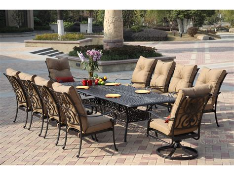 Darlee Patio by Darlee Outdoor Living Santa Cast Aluminum Antique