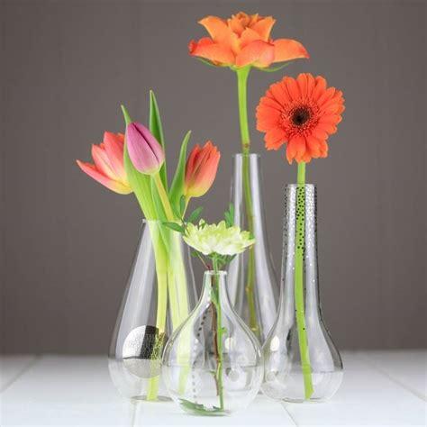 fiori vetro vasetti in vetro vasi contenitori vetro