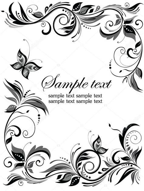clipart vectors wedding floral border stock vector 169 antonovaolena 20032219