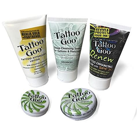 tattoo goo aftercare kit reviews amazon com tattoo goo the original after care salve 0 75