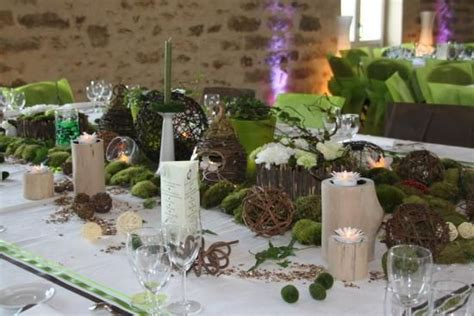 Decoration Mariage Theme Nature by Th 232 Me Nature Pour D 233 Coration De Mariage Mariage Nature