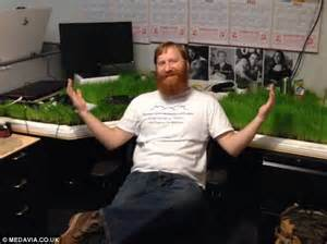 Office Desk Grow Light What On Turf Is Growing On My Desk Engineer Returns From