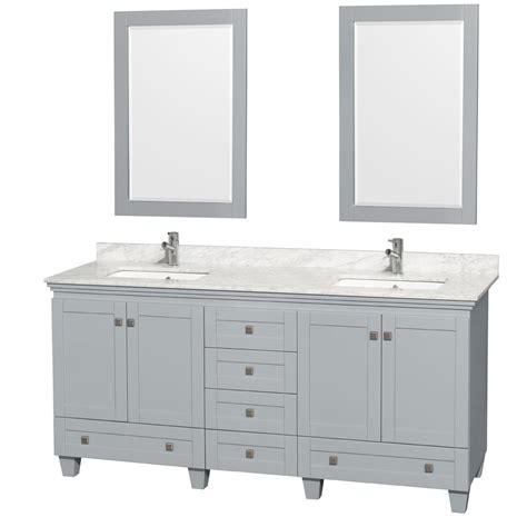 72 bathroom vanity top sink accmilan 72 inch sink bathroom vanity in grey
