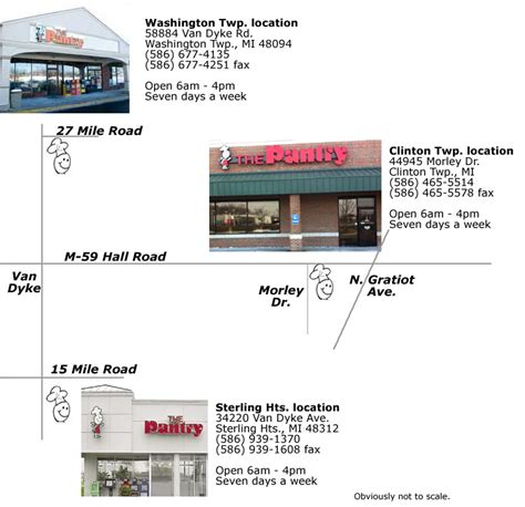 And Pantry Locations by The Pantry Restaurant Locations