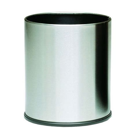 Decorative Trash Can by Witt 66ss 4 Gal Indoor Decorative Trash Can Metal