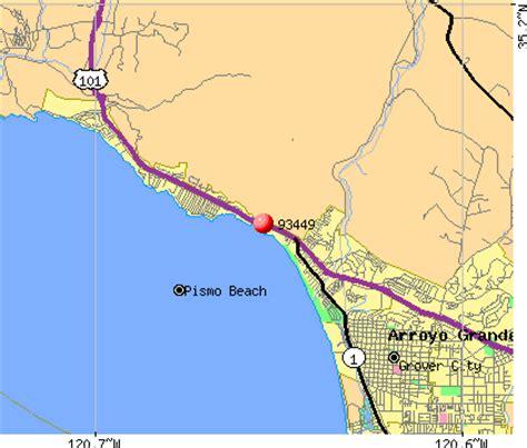 pismo california map cantor gallery pismo ca