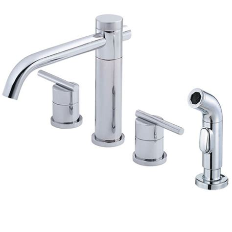 danze parma kitchen faucet danze d414458 parma kitchen sink faucet w spray chrome ebay