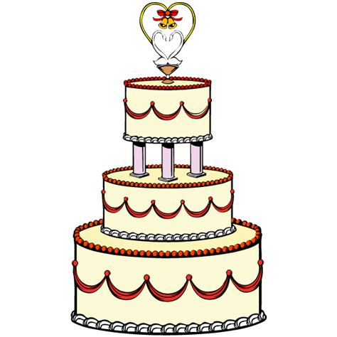 Wedding Cake Clip by Marriage Cake Animated Clipart Best
