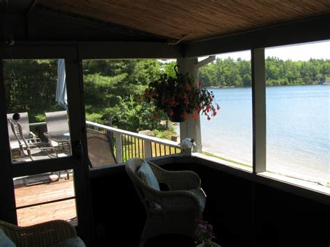 Go Home Bay Cottages For Sale by Brown Waterfront Cottage In The Coveted Cognashene