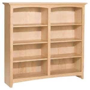 unfinished wood bookshelves alder 48 x 48 bookcase unfinished furniture