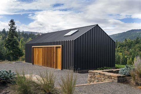 Shed Style Architecture Elk Valley Tractor Shed Fieldwork Design Architecture