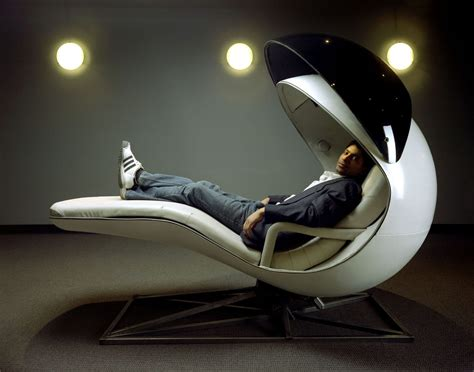 the napping energypod cradles you in comfort while you