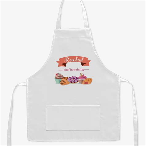 personalized kids chef in training kids apron shop