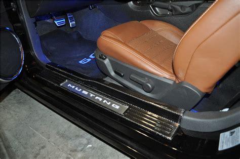 Custom Carbon Fiber Interior by Custom Carbon Fiber Sills Interior Lighting The