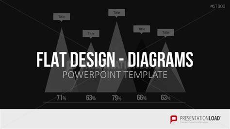 Powerpoint Vorlagen Flat Design Presentationload Flat Design Diagramme