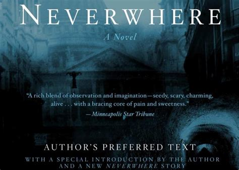 neverwhere authors preferred text quot author s preferred text quot of neil gaiman s neverwhere what do those words mean