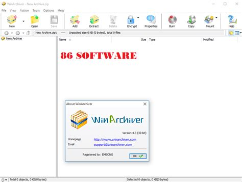 software untuk membuat file zip winarchiver 4 0 x86 x64 final full version 86 software
