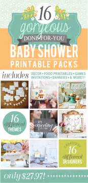 16 Baby Shower Printable Packs Ultimate Baby Shower Printables Pack Inspiration Made Simple