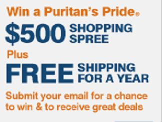 Puritan S Pride Sweepstakes - puritan s pride 500 gift card spring sweepstakes thrifty momma ramblings