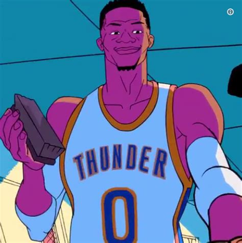 sport witness on twitter brilliant cartoon from l equipe was it watch the russell westbrook commercial you can t stop