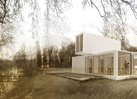 haus aus seecontainer 2x20ft kreative architektur mit standard seecontainern