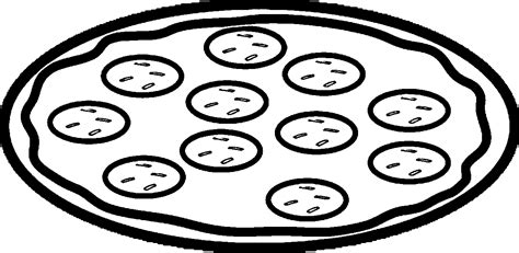 pizza slice coloring pages to print coloring4free