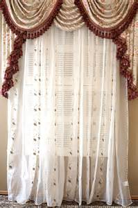 Swag Valance Curtains Debutante Overlapping Swag And Valance Curtains