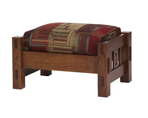 mission ottoman morris mission ottoman ohio hardword upholstered furniture