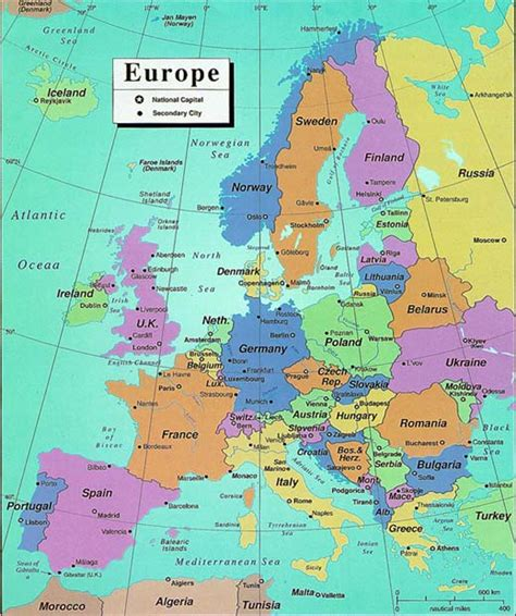 map of europe showing cities concordance of images library of congress geography and