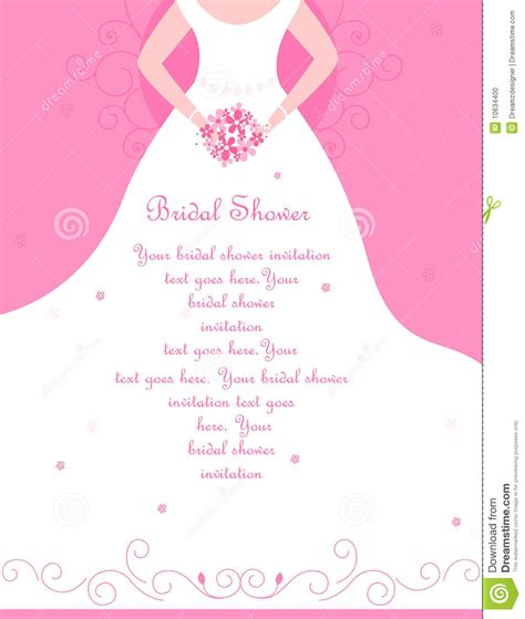 Bridal Shower Pics by Bridal Shower Invitation Stock Photo Image 10634400