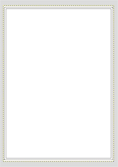 margins multiple border around page tex latex stack
