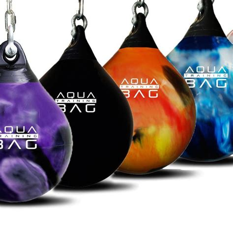 aqua bags are water filled punching bags