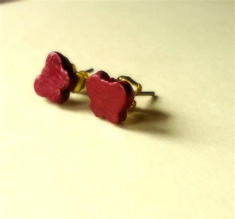 How To Make Paper Stud Earrings - paper stud earrings 183 how to make a set of paper earrings