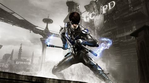 wallpaper of batman arkham knight batman arkham knight nightwing wallpapers hd wallpapers