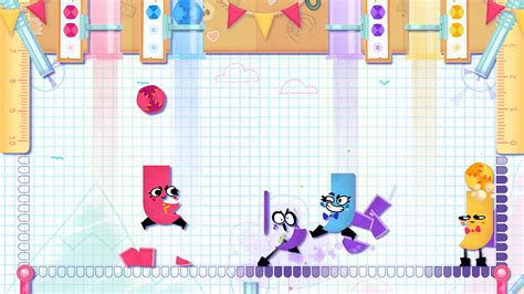 Kaset Switch Snipperclips Plus Cut It Out Together spill snipperclips plus cut it out together