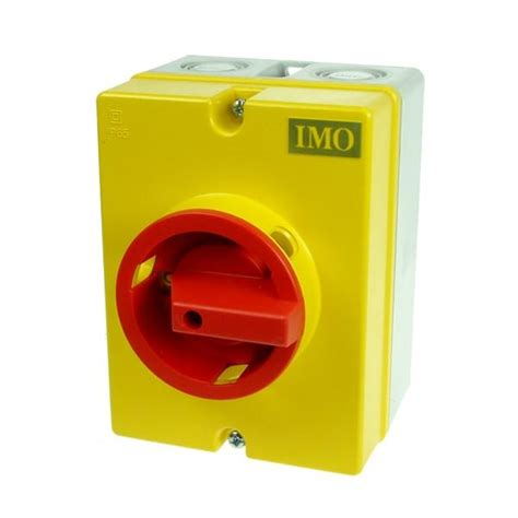 Isolator Switch 20a imo is01c 20a 3p rotary isolator r b electrical wholesalers